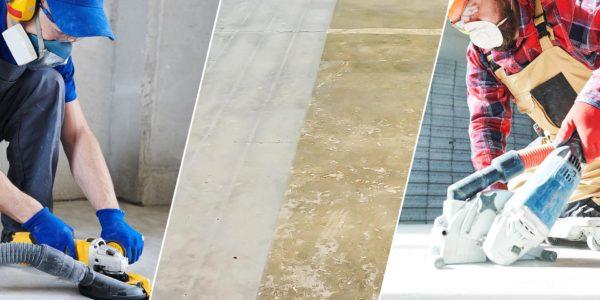 Vorbehandlung von Unterböden für Bodenbeschichtungen aus Kunstharz
