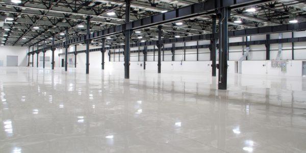 Industrieboden aus Epoxidharz