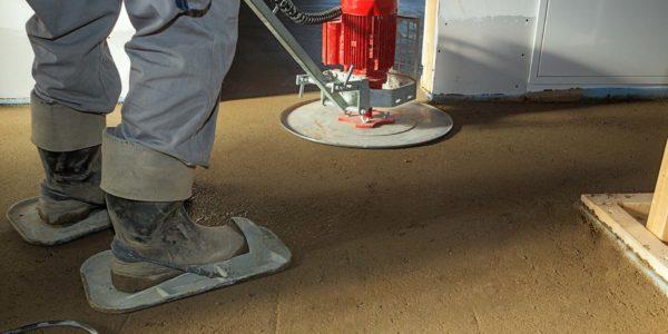 Industrieboden aus Estrich 12