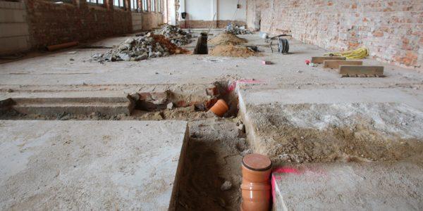 Sanierung und Reparatur von Altböden